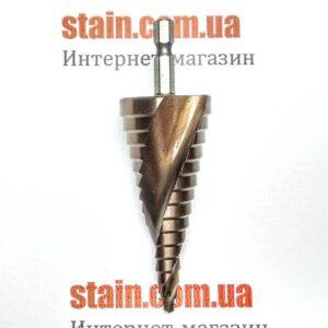 Ступенчатое сверло с кобальтом шестигранный хвостовик 4-32 мм