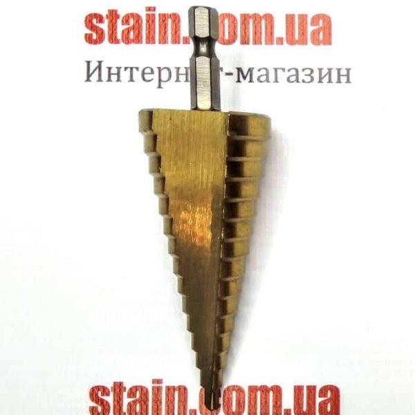 Ступенчатое сверло шестигранный хвостовик 4-32 мм дешево